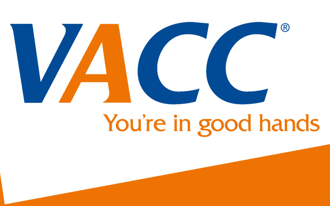 The VACC logo used on websites.