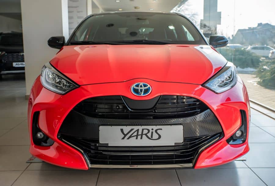The Toyota Yaris is loaded with safety features and awarded a 5-star rating for safety by ANCAP.